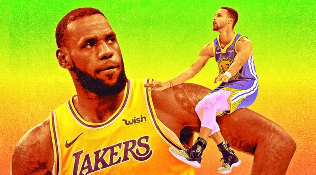 Stephen Curry nói gì về mùa giải thất vọng của LeBron James?