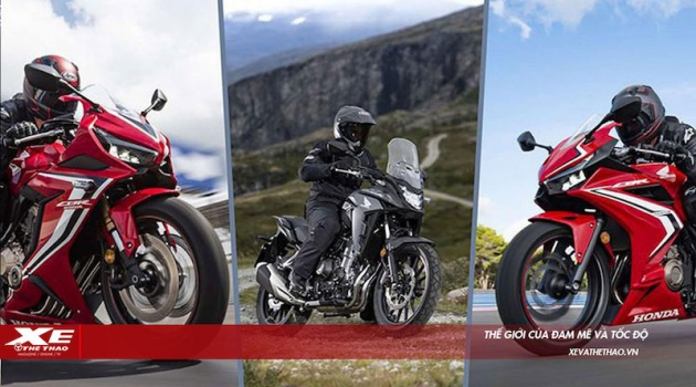 Biker Việt Nam tiếp tục chào đón phiên bản mới CBR650R & CB500X cùng mẫu xe hoàn toàn mới CBR500R