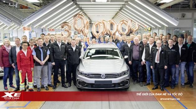 Chiếc Volkswagen Passat thứ 30 triệu xuất xưởng, xác lập một kỷ lục mới trong phân khúc xe hạng D