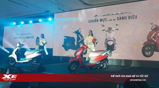 Yamaha ra mắt Latte cạnh tranh Honda Lead, giá 37,9 triệu đồng