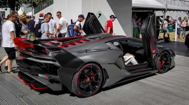 Lamborghini trưng bày SC18 Alston tại Goodwood Festival of Speed: Siêu xe hàng độc, giá hơn 7 triệu đô