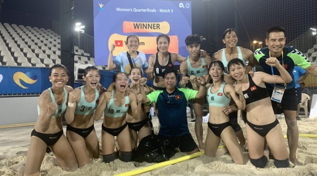 Bóng ném bãi biển nữ Việt Nam lập kỳ tích ở giải thế giới