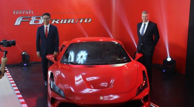 Ferrari chính thức khai trương showroom chính hãng đầu tiên tại Việt Nam