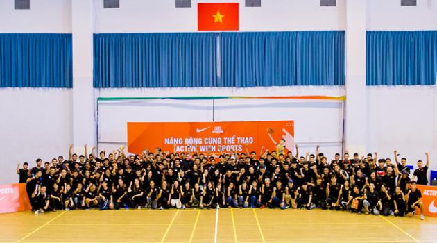 Nike và SSA tổ chức ngày tập huấn Năng động cùng thể thao năm học 2019-2020