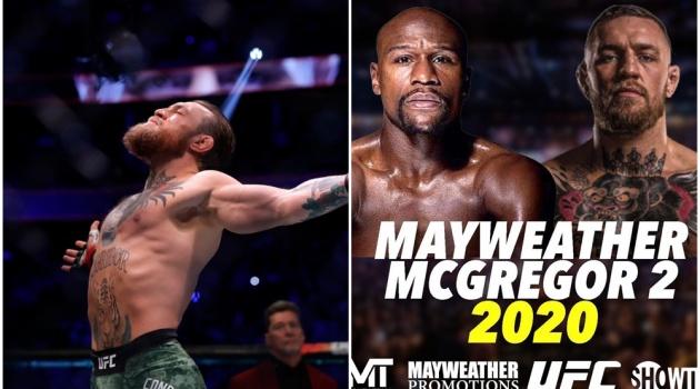 Conor McGregor KO đối thủ trong 40 giây, Floyd Mayweather đăng ngay poster tái đấu