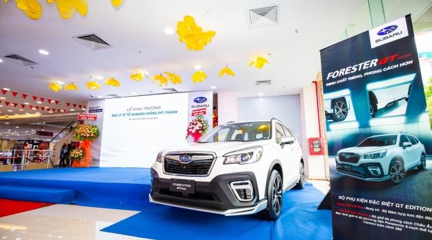 Đại lý Subaru thứ 2 tại Đồng bằng sông Cửu Long chính thức khai trương