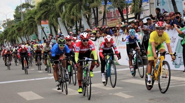 Chặng 4 giải xe đạp nữ toàn quốc lần thứ 21 - An Giang năm 2020