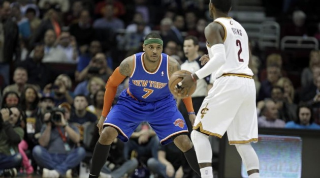Kyrie Irving ra đi: Knicks dùng Carmelo Anthony đổi với CAVs