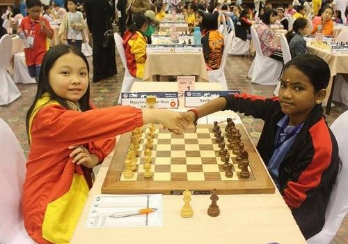 Nhà vô địch thế giới Nguyễn Lê Cẩm Hiền vuột HCV châu Á