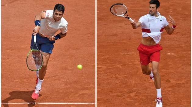 Berdych thua sốc, Djokovic thắng nhàn ở vòng 2 Roland Garros