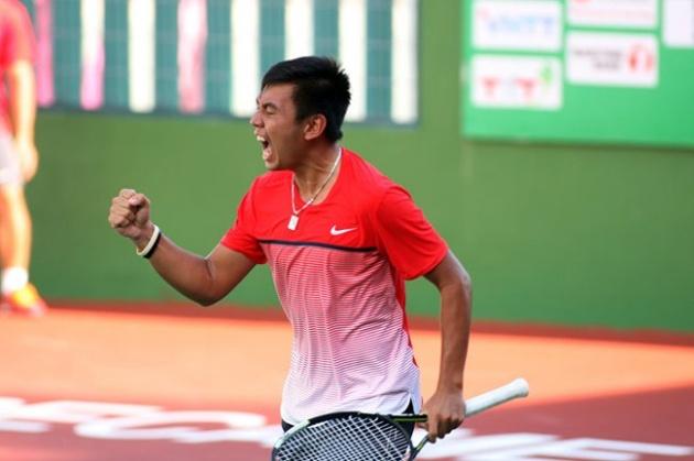 Lý Hoàng Nam lập cú đúp vô địch F5 Futures