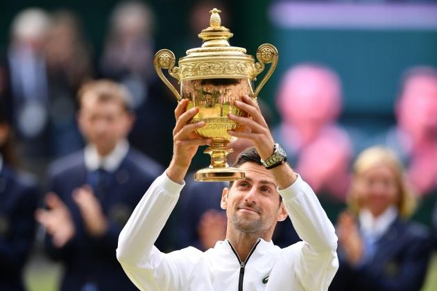 Hạ Federer sau 5 giờ đại chiến, Novak Djokovic bảo vệ ngôi vương Wimbledon