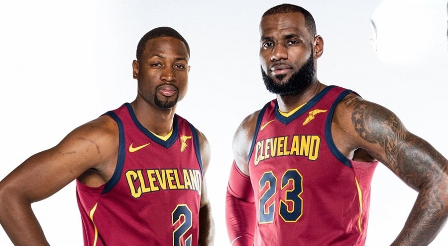 Image result for Dwyane Wade và LeBron James
