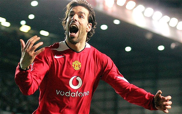 Ruud van Nistelrooy và một thời để nhớ cùng Man Utd