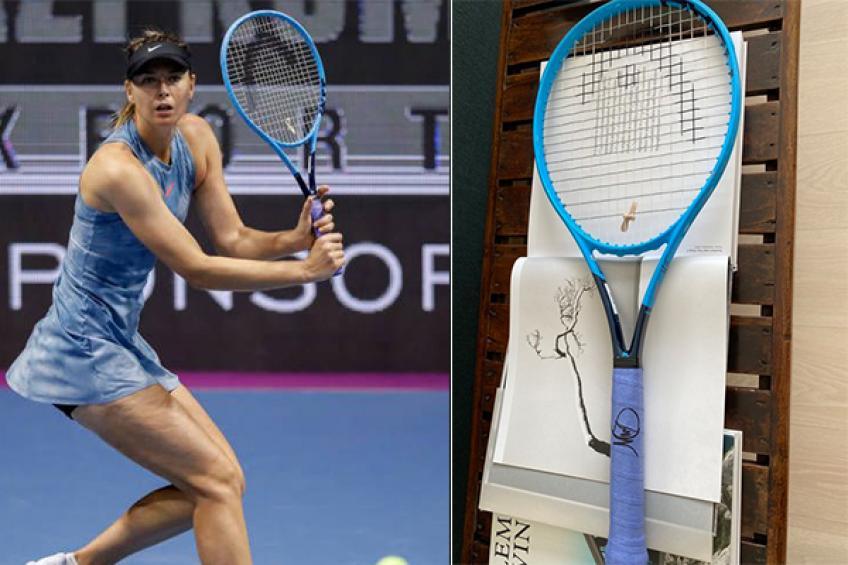 maria-sharapova-auctions-signed-racket-to-raise-money-for-heroic-doctors