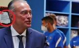 Barca dán tin tức về Ronaldo trong phòng thay đồ