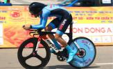 Chặng 14 giải xe đạp Cúp truyền hình TPHCM 2021: Áo vàng quay lại với Loic Desriac