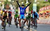 Chặng 20 giải xe đạp cúp truyền hình TP.HCM 2021: Nguyễn Tấn Hoài lần thứ 4 thắng chặng