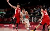 Kết quả bóng rổ Olympic 29/7: Chủ nhà gục ngã, Doncic vẫn thăng hoa