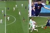 Pha đỡ bóng kinh điển của Benzema được so sánh với Dennis Bergkamp