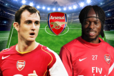 Đội hình với 11 'bom xịt' của Arsenal trong thế kỷ XXI