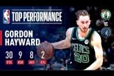 Video Gordon Hayward lên tiếng giúp Celtics vượt ải 'bầy Sói'