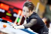Vẻ đẹp của nữ hoàng billiards Trung Quốc