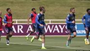 Tuyển Anh cháy hết mình trên sân tập trước thềm đối đầu Croatia
