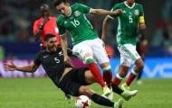 Ngược dòng đánh bại New Zealand, Mexico chễm chệ ở ngôi đầu