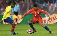 Sanchez hóa người hùng giúp Chile có một nửa chiếc vé đến Nga