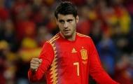 THỐNG KÊ: Morata là 'pháo hạng nặng' của Tây Ban Nha