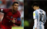 Chết cười với việc fan so sánh Ronaldo và Messi siêu nhộn