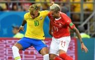 Đụng đến Neymar, sao Thụy Sĩ bị fan Brazil dọa 'chơi khô máu'