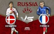 Hai nhân tố sẽ làm nên thành công của Đan Mạch trước Pháp