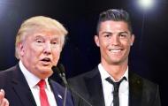 Sốc! Donald Trump khuyên Ronaldo tranh cử tổng thống