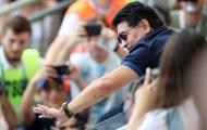 Maradona đã trở lại trên khán đài trận Pháp - Argentina