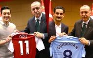 Tủi hổ rời World Cup, Ozil và Gundogan nhận đòn phũ từ tổng thống Thổ Nhĩ Kỳ