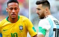 Tỏa sáng cứu Brazil nhưng Neymar vẫn 'hít khói' Messi trên mạng xã hội