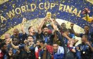 Thế giới bóng đá hào hứng chung vui cùng tuyển Pháp