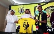 CHÍNH THỨC: 'Báo đen' Eto'o ra mắt câu lạc bộ thứ 13 trong sự nghiệp