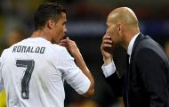 Ronaldo nói điều thật lòng về việc Real bổ nhiệm lại Zidane