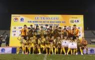 Kết thúc giải VĐQG nữ 2019: TP.HCM I vô địch, Hà Nội giành vị trí á quân