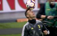 Ronaldo trình diễn kỹ thuật trước đại chiến với Inter Milan