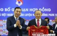 Ký HĐ mới với Việt Nam, thầy Park xúc động cảm ơn 1 người