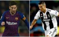 Ronaldo & Messi và những điều đối lập