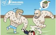 Cười té ghế với loạt ảnh chế Vòng 17 Premier League