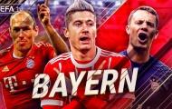 Những bàn thắng đẹp nhất của Bayern Munich trong thập kỷ vừa qua