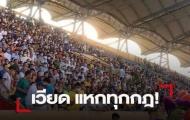 Báo chí Thái sốc vì khán giả không đeo khẩu trang, chen kín khán đài Thiên Trường