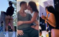 10 hình ảnh hot nhất của bạn gái Ronaldo: Dáng đứng gợi cảm