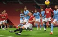 Hòa Man City, Man Utd lập nên 'kỷ lục' siêu tệ hại
